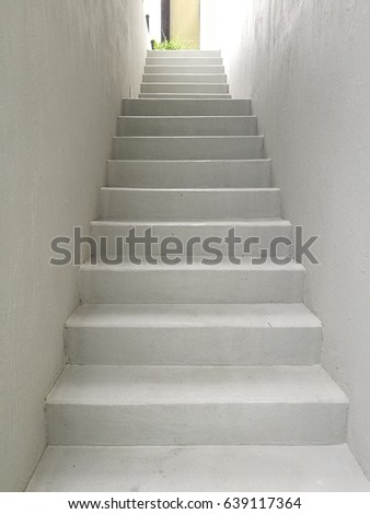 Mortar stair up to the upper floor #639117364