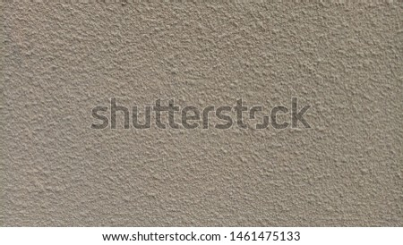 Mortar walls with uneven surfaces or rough surfaces