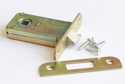Mortise door lock for interior doors. Fittings.