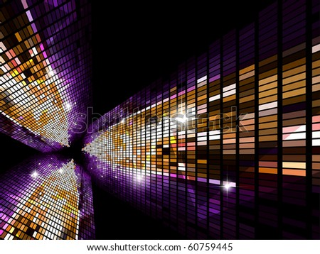 Mosaic background. Vector version available in my gallery.