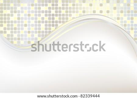 Mosaic color illustration vector design
