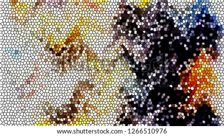 Mosaic colorful pattern for design and backgrounds #1266510976