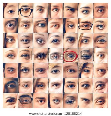 mosaic eyes