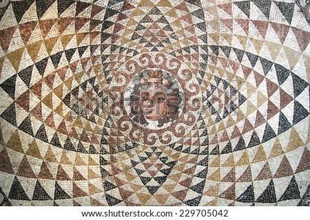 mosaic of dionysos  from the...