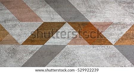 mosaic, tile, geometric shapes #529922239