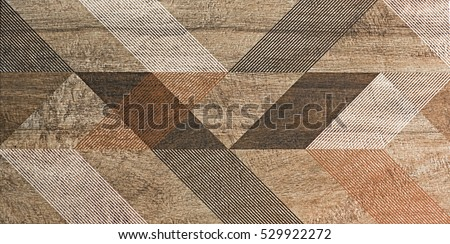 mosaic, tile, geometric shapes