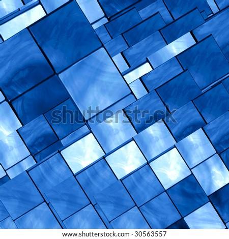 Mosaic Tiles Abstract