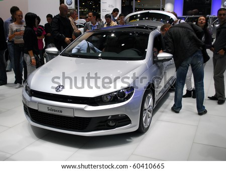 MOSCOW - AUG 26: Volkswagen The Moscow international motor show 2010 on August 26, 2010 in Moscow, Russia.