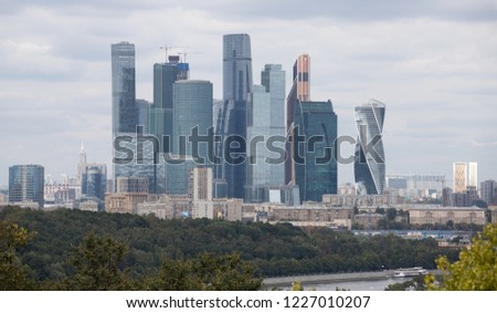 Moscow central business district  #1227010207
