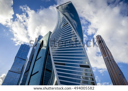 Moscow City International Business Center in Russia #494005582