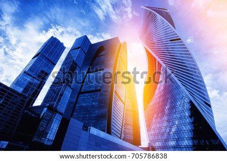 Moscow city: Moscow International Business Center. Russia #705786838
