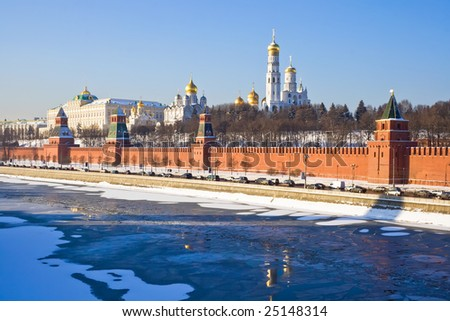 Moscow Kremlin and Cathedral of the Archangel Michael, Russia