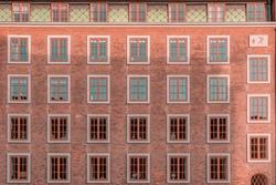Mosendalgård—hidden gem of Copenhagen's Art Deco architecture. High Resolution Photography.