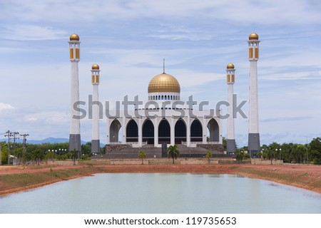 Mosque at Thailand