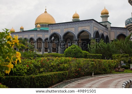 Mosque in Bandar Seri Begawan, Brunei