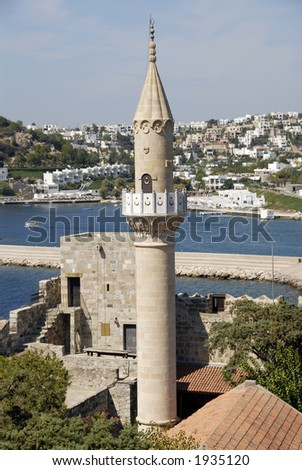 Mosque in Bodrum, Turkey