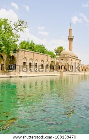 Mosque in Sanliurfa, Turkey