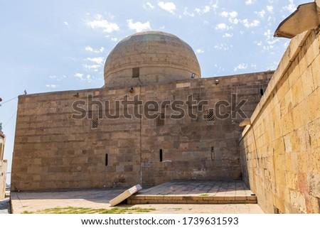 Mosque of Heydar cuma mascidi. Built in 1893. Republic of Azerbaijan