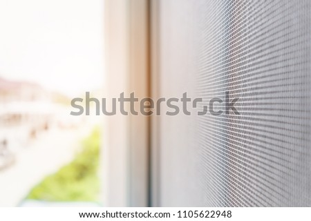 mosquito net wire screen on house window protection against insect #1105622948