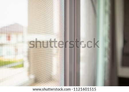 mosquito net wire screen on house window protection against insect #1121601515