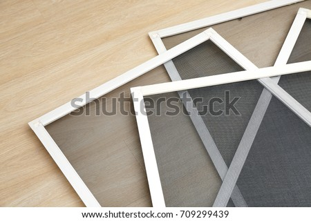 Mosquito window screens on floor #709299439