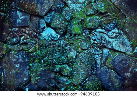 Moss green grass background texture design