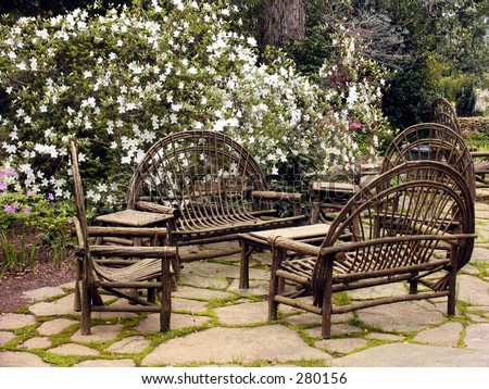 Rustic Outdoor Patio ...