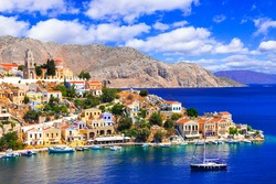 Most beautiful colorful islands of Greece - Symi (Simi) in Dodecanese