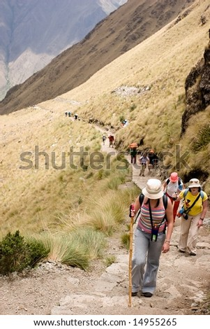 most popular of the Inca trails for trekking is the Capaq Ã?Â?Ã?Â?an trail, which leads from the village of Ollantaytambo to Machu Picchu