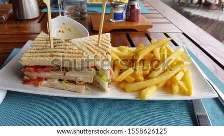 MOST TASTY SANDWICH IN SEYCHELLES