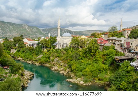 Mostar, Bosnia and Herzegovina - general view