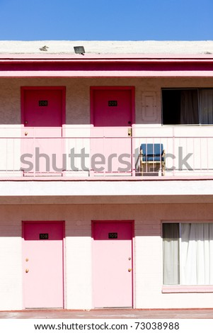 motel in Las Vegas, Nevada, USA