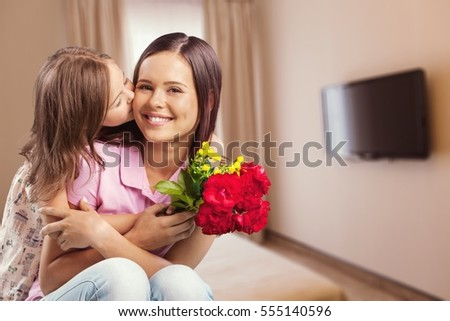 Mother. - Shutterstock ID 555140596