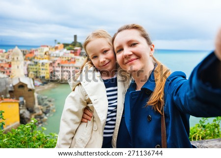 Italy, Europe. Spring in Europe, family travelling