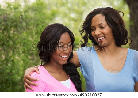 Mother and daughter talking. Spending time together. Parenting. Mother giving her daughter advice.