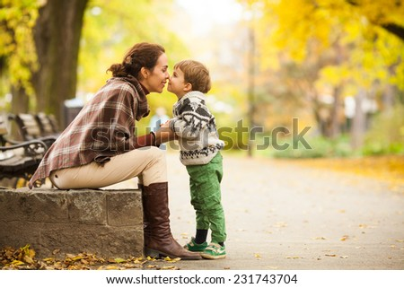 Mother and son #231743704