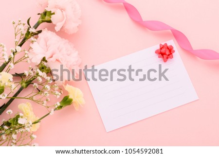 Mother's Day, Carnation, a picture of the gift