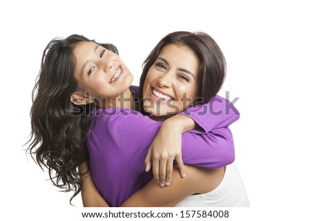 Mother smiling with her daughter  #157584008