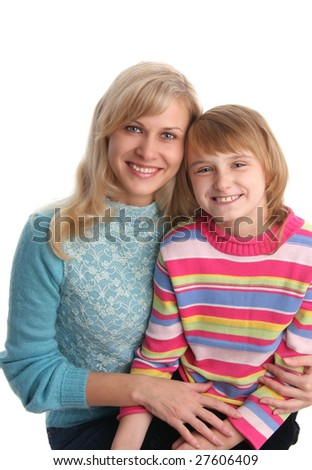 Mother with daughter 20