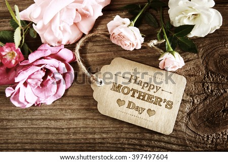 mothers day message with small...