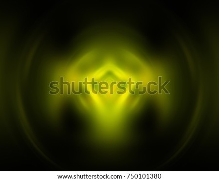 Motion blur green background. Illustration for design. Illustration for design. #750101380
