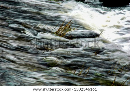 motion blur with water rushing past #1502346161