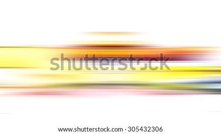 Motion blurred landscape background.
