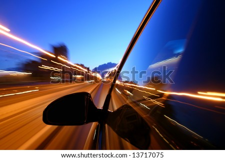 motion blurred transportation background