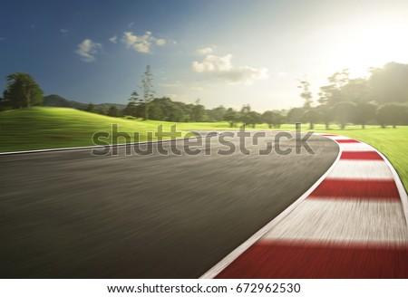 Motion Speed racing track