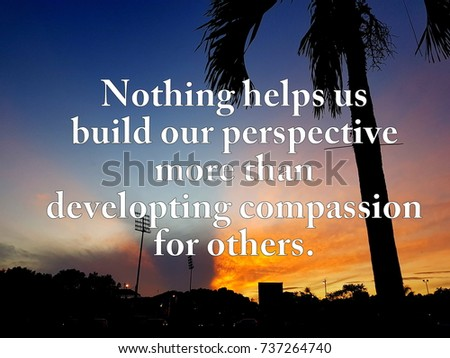 Motivation wording on sunrise background #737264740