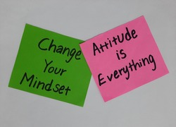 Motivational quotes about life for successful future, Change your mindset, Attitude is Everything