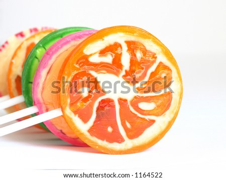 motley  lollipops on stick #1164522