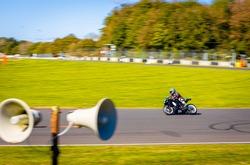 Moto racing in english countryside, UK