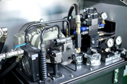 Motor and hydraulic pump to build complex technical systems